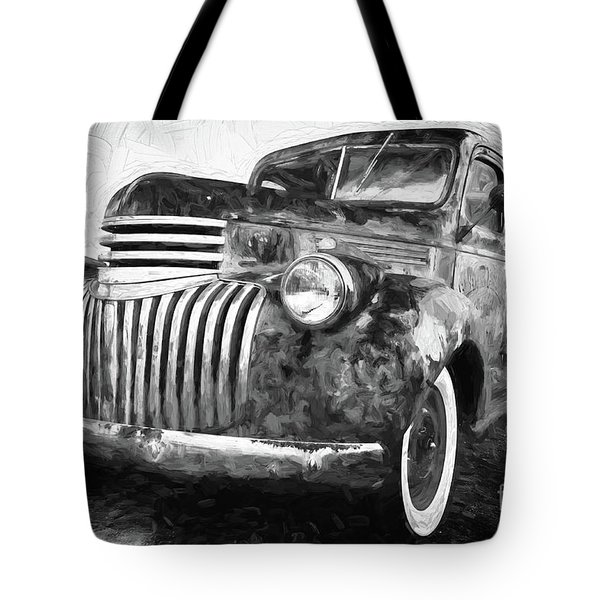 Old Truck  - Painterly Tote Bag