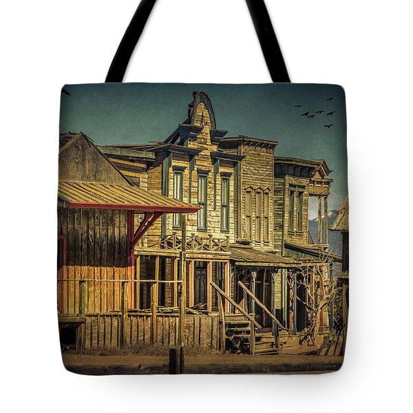 Old Western Town Tote Bag