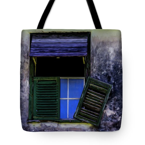 Old Window 2 Tote Bag