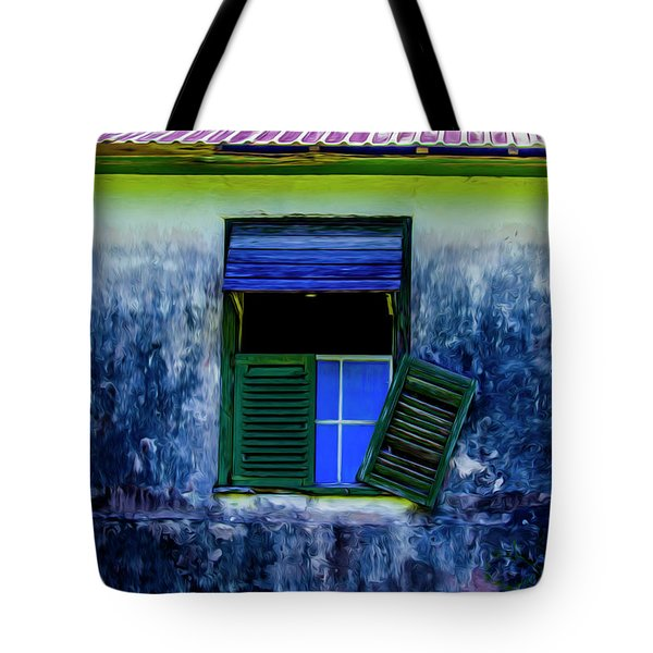 Old Window 3 Tote Bag
