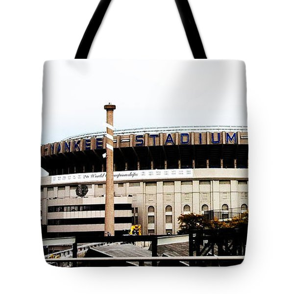 Old Yankee Stadium Tote Bag