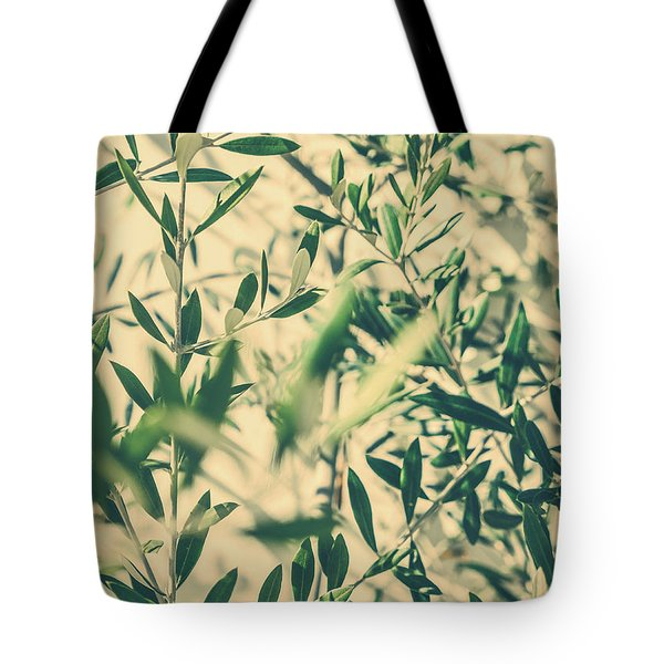 Tote Bag featuring the photograph Olive Garden II by Anne Leven