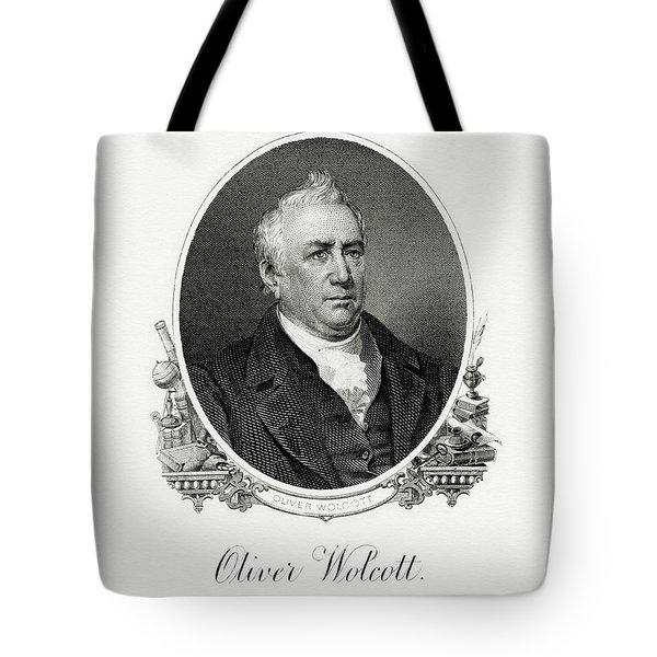 Oliver Wolcott, Jr Tote Bag
