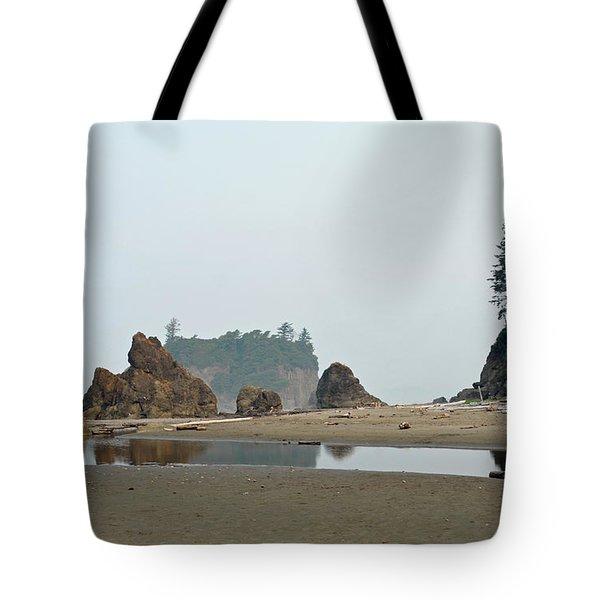 Olympic National Park Seastacks Tote Bag
