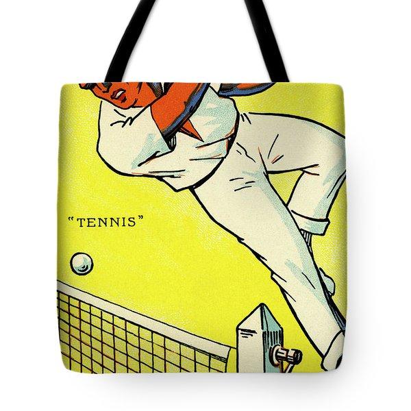 Olympics 1924 Paris France Tennis Championship Tote Bag