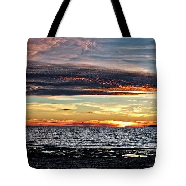 Ominous Cloud Over Erie Tote Bag