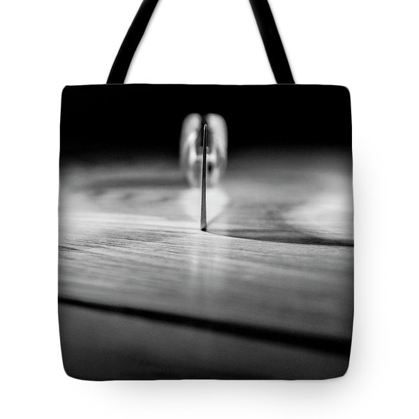 On A Knife Edge Tote Bag