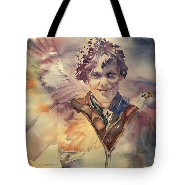 On Eagles Wings Tote Bag