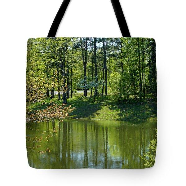 On Golden Pond Tote Bag