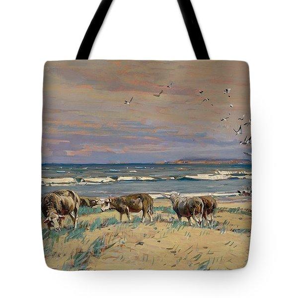 On The Baltic Sea Beach Tote Bag