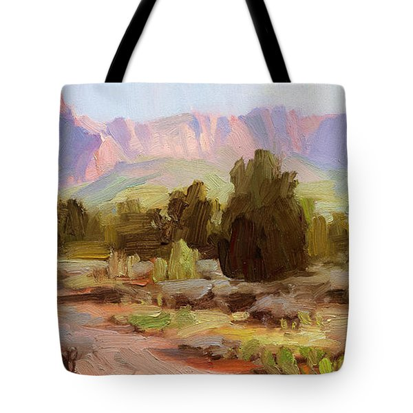 On The Chinle Trail Tote Bag