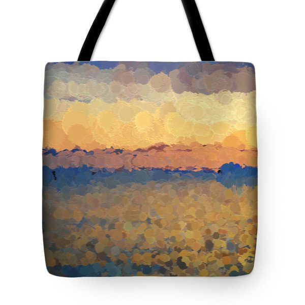 On The Horizon Tote Bag