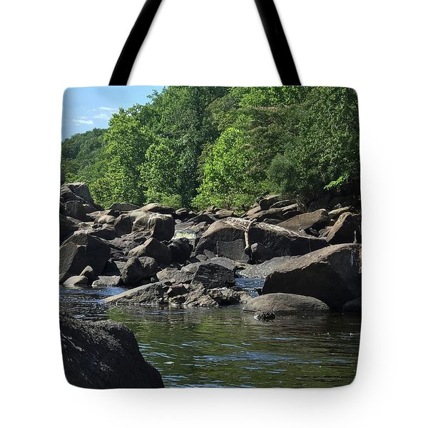 On The Occoquan Tote Bag