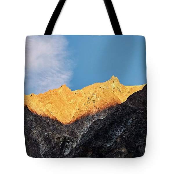 Tote Bag featuring the photograph On The Ridge by Whitney Goodey