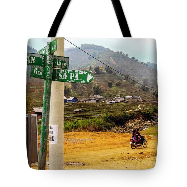 On The Way To Sapa, Vietnam Tote Bag
