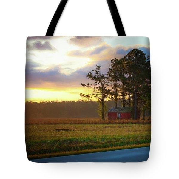 Onc Open Road Sunrise Tote Bag
