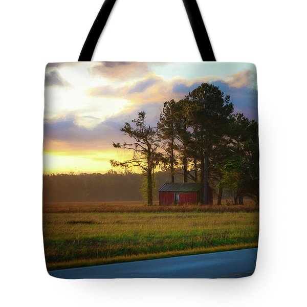 Onc Open Road Sunrise Tote Bag