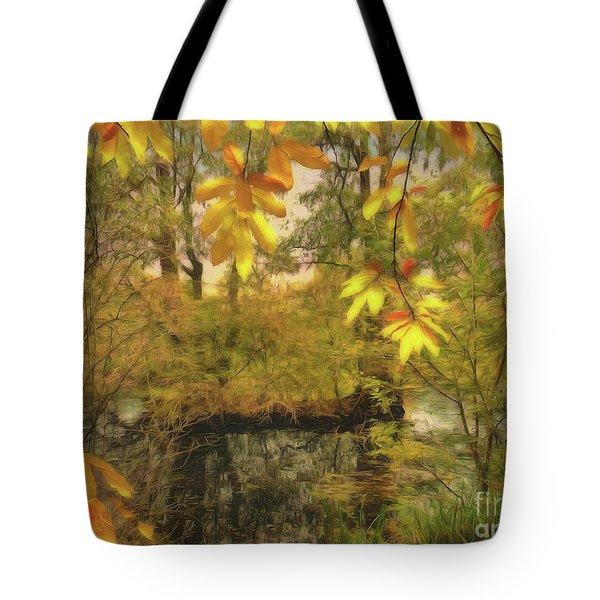 Once A Pond A Time Tote Bag