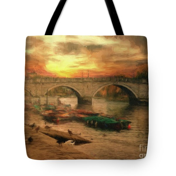 Once More To The Bridge Dear Friends Tote Bag