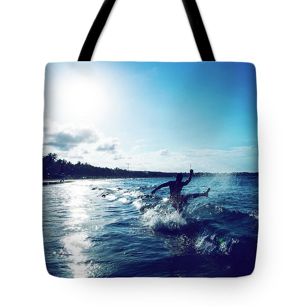 One Last Time Tote Bag