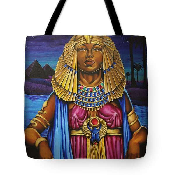 One Night Over Egypt Tote Bag