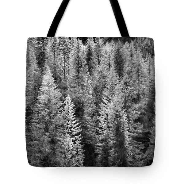 One Of Many Alp Trees Tote Bag
