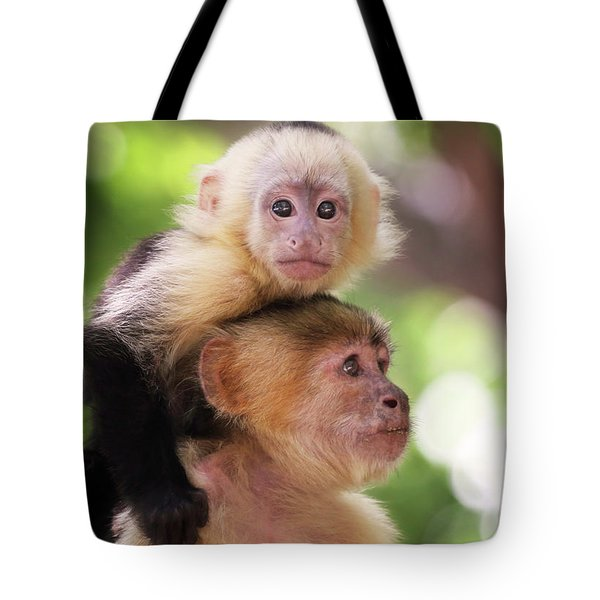 One Of Those Days When You Just Can't Seem To Get The Monkey Off Your Back Tote Bag