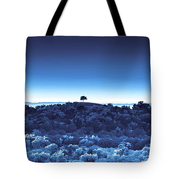 One Tree Hill -blue -2 Tote Bag