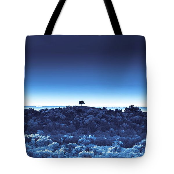 One Tree Hill - Blue - 3 Tote Bag