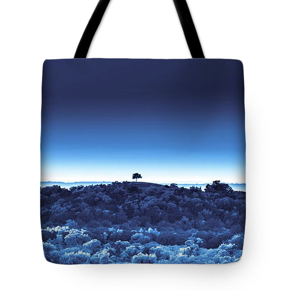 One Tree Hill - Blue 4 Tote Bag
