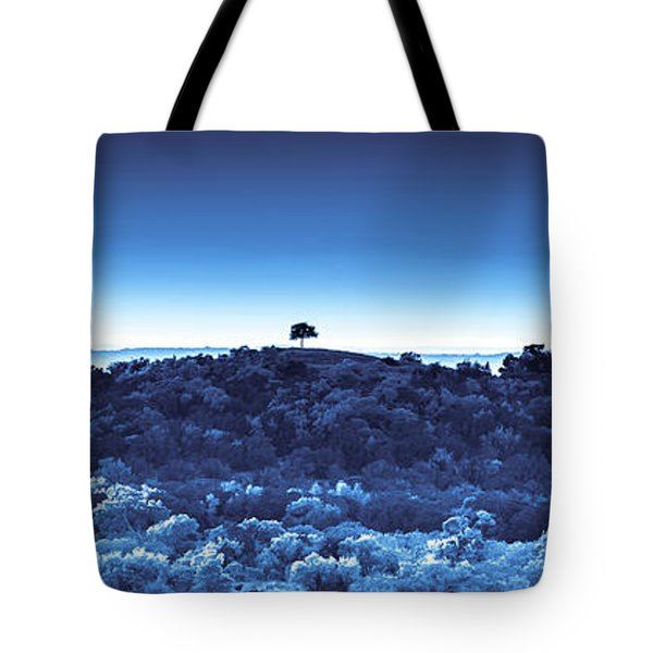 One Tree Hill - Blue Tote Bag