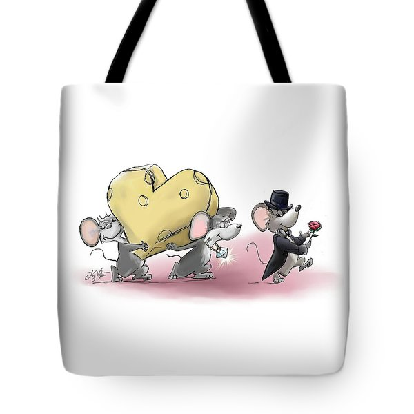 Only The Best Cheese Will Do Tote Bag