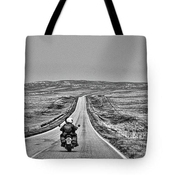 Open Road Tote Bag