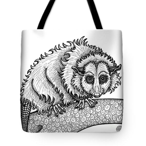 Opossum Tote Bag