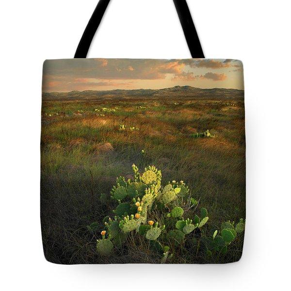 Opuntia, Mustang Island State Park Tote Bag