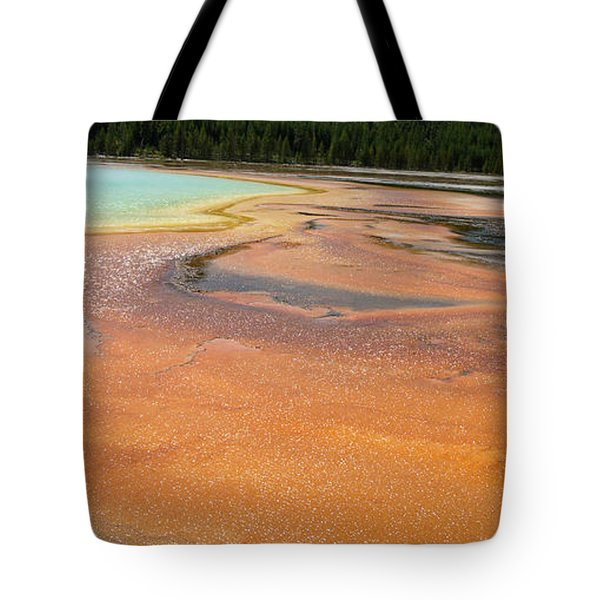 Orange River Tote Bag