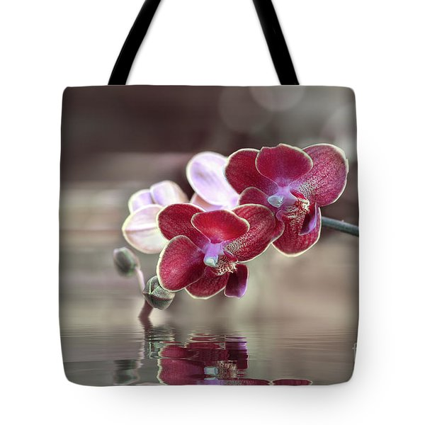 Orchid Reflection Tote Bag
