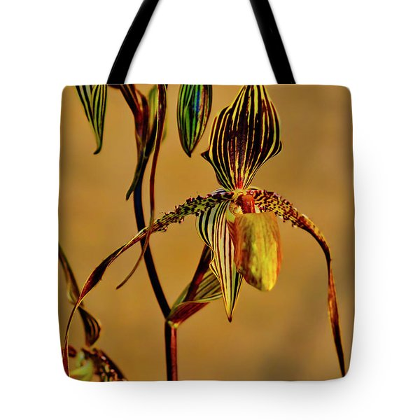 Orchid Study Eight Tote Bag