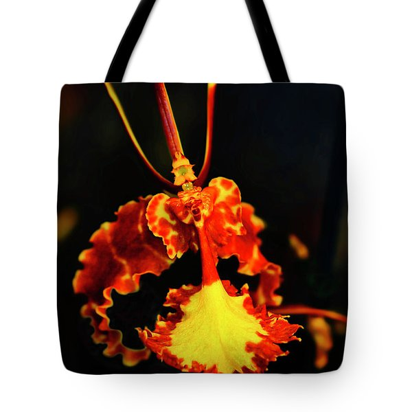 Orchid Study Four Tote Bag