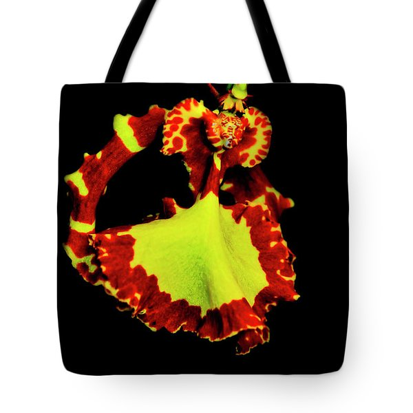 Orchid Study Nine Tote Bag