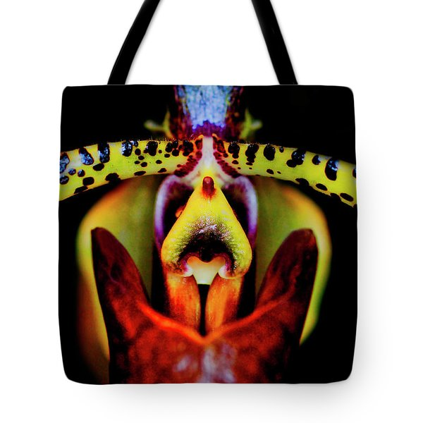 Orchid Study Six Tote Bag