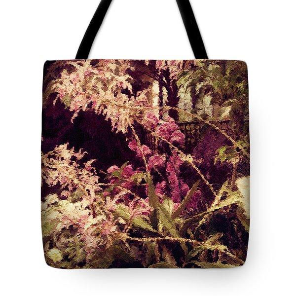 Orchids In The Atrium Tote Bag
