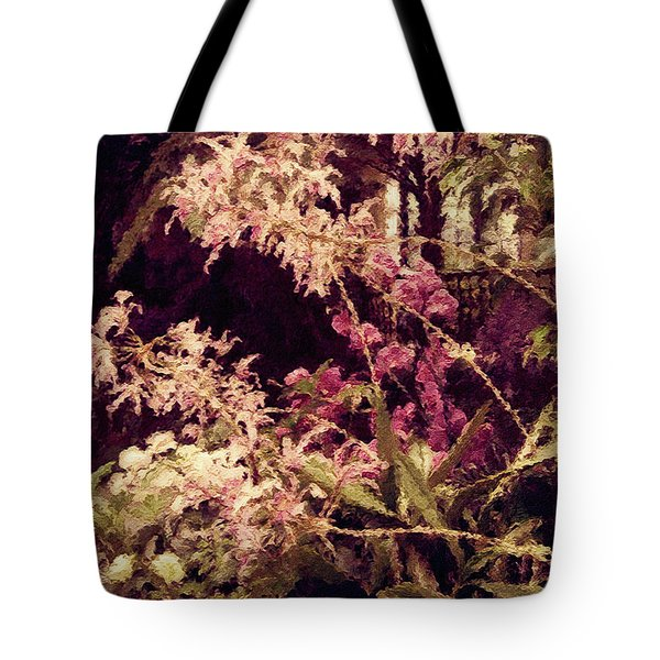 Orchids In The Atrium Tote Bag