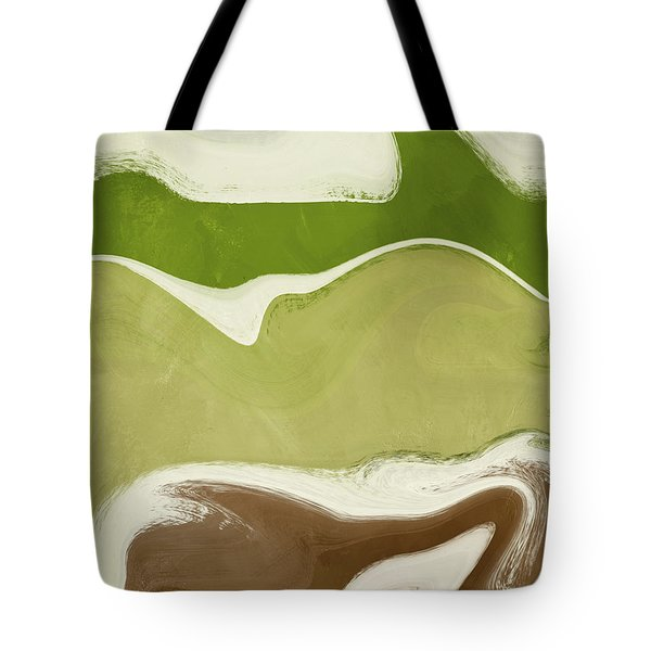 Organic Wave 1- Art By Linda Woods Tote Bag