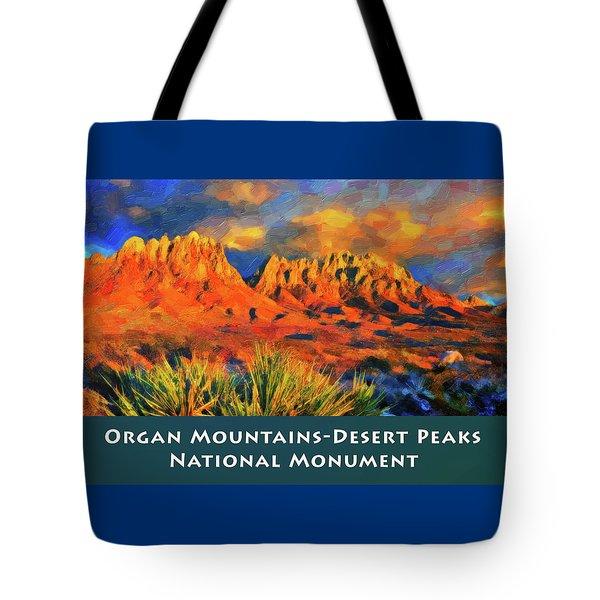 Organ Mountains Tote Bag