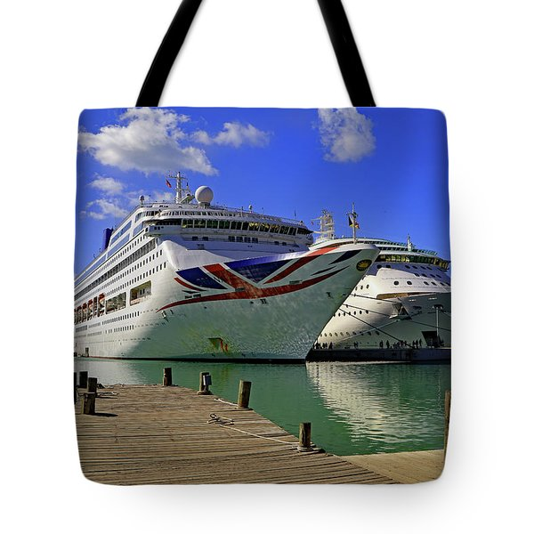 Tote Bag featuring the photograph Oriana Antigua by Tony Murtagh