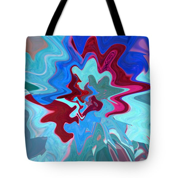 Original Abstract Art Painting - Inside The Dream Tote Bag