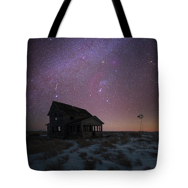 Tote Bag featuring the photograph Orion  by Aaron J Groen