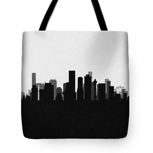 Osaka Cityscape Art Tote Bag