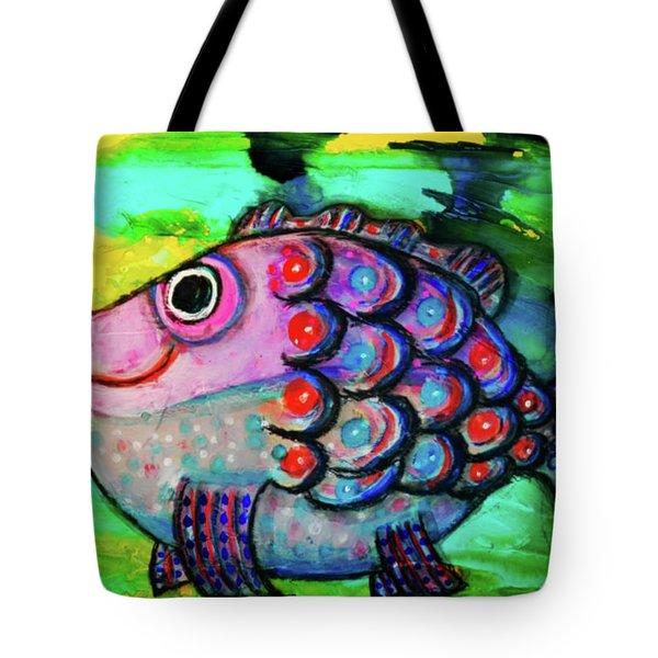 Oscar The Nosefish Tote Bag